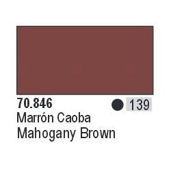 Acrilico Model Color, Marrón caoba ( 139 ). Bote 17 ml. Marca Vallejo. Ref: 70.846.
