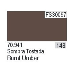 Acrilico Model Color, Sombra tostada ( 148 ). Bote 17 ml. Marca Vallejo. Ref: 70.941.