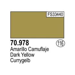 Acrilico Model Color, Amarillo camuflaje ( 116 ). Bote 17 ml. Marca Vallejo. Ref: 70.978.
