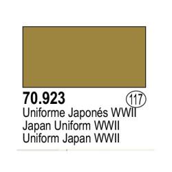 Acrilico Model Color, uniforme japonés WWII ( 117 ). Bote 17 ml. Marca Vallejo. Ref: 70.923.