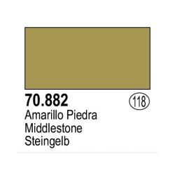 Acrilico Model Color, Amarillo piedra ( 118 ). Bote 17 ml. Marca Vallejo. Ref: 70.882.