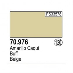 Acrilico Model Color, Amarillo caqui ( 120 ). Bote 17 ml. Marca Vallejo. Ref: 70.976.