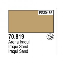 Acrilico Model Color, Arena iraqui ( 124 ). Bote 17 ml. Marca Vallejo. Ref: 70.819.