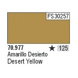 Acrilico Model Color, Amarillo Desierto ( 125 ). Bote 17 ml. Marca Vallejo. Ref: 70.977.
