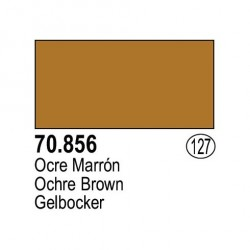 Acrilico Model Color, ocre marrón ( 127 ). Bote 17 ml. Marca Vallejo. Ref: 70.856.