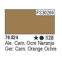 Acrilico Model Color, Ocre naranjado camuflaje alemán ( 128 ). Bote 17 ml. Marca Vallejo. Ref: 70.824.