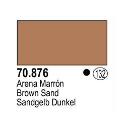 Acrilico Model Color, Arena marrón ( 132 ). Bote 17 ml. Marca Vallejo. Ref: 70.876.