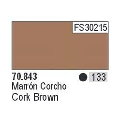Acrilico Model Color, Corcho marrón ( 133 ). Bote 17 ml. Marca Vallejo. Ref: 70.843.