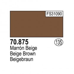 Acrilico Model Color, Marrón beige ( 135 ). Bote 17 ml. Marca Vallejo. Ref: 70.875.