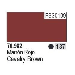 Acrilico Model Color, Marrón rojizo ( 137 ). Bote 17 ml. Marca Vallejo. Ref: 70.982.
