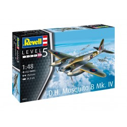 D.H. Mosquito Bomber. Escala 1:48. Marca Revell. Ref: 03923.