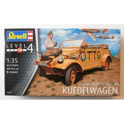 German Staff Car Type 82 KUEBELWAGEN. Escala 1: 35. Marca Revell. Ref: 03253.