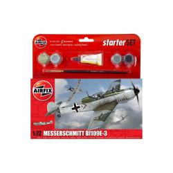 Caza Messerschmitt Bf109E-3. Escala 1:72. Marca Airfix. Ref: A55106.