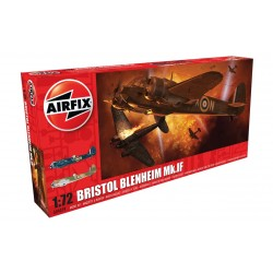 Caza Bristol Blenheim Mk.IF. Escala 1:72. Marca Airfix. Ref: A04059.