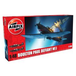 Caza Boulton Paul Defiant NF.1. Escala 1:48 Marca Airfix. Ref: A05132.