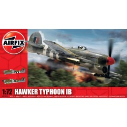 Caza Hawker Typhoon Ib. Escala 1:72. Marca Airfix. Ref: A02041.
