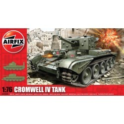 Tanque Cromwell IV, WWII. Escala 1:76. Marca Airfix. Ref: A02338.