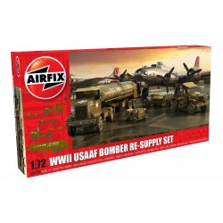 Set Re-abastecimiento de bombarderos de USAAF, WWII . Escala 1:72. Marca Airfix. Ref: A06304.