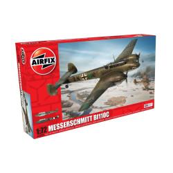 Caza Messerchmitt Bf110C. Escala 1:72. Marca Airfix. Ref: A03080A.