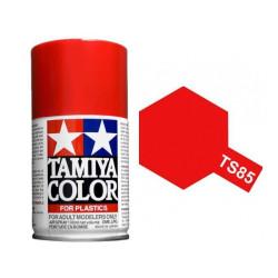 Spray Bright mica Red Ferrari, Rojo mica ferrari brillante  (85085). Bote 100 ml. Marca Tamiya. Ref: TS-85.