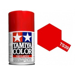 Spray mica Red, Rojo mica (85039). Bote 100 ml. Marca Tamiya. Ref: TS-39.