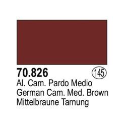 Acrilico Model Color, Alemán camuflaje pardo medio ( 145 ). Bote 17 ml. Marca Vallejo. Ref: 70.826.