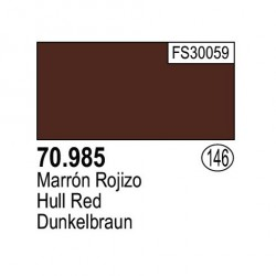 Acrilico Model Color, Marrón rojizo ( 146 ). Bote 17 ml. Marca Vallejo. Ref: 70.985.