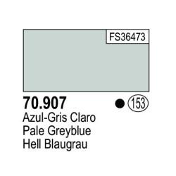 Acrilico Model Color, Azul gris claro ( 153 ). Bote 17 ml. Marca Vallejo. Ref: 70.907.