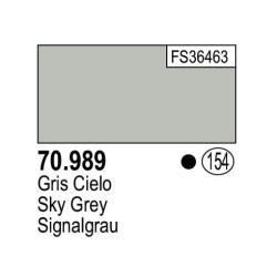 Acrilico Model Color, Gris cielo ( 154 ). Bote 17 ml. Marca Vallejo. Ref: 70.989.