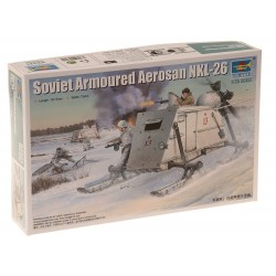 Soviet Armoured Aerosan, NKL-26. Escala 1:35. Marca Trumpeter. Ref: 02321.