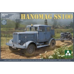 German Tractor Hanomag, WWII. Escala 1:35. Marca Takom. Ref: 2068.