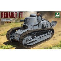French light Tank Renault FT-17, WWI. Escala 1:16. Marca Takom. Ref: 1004.