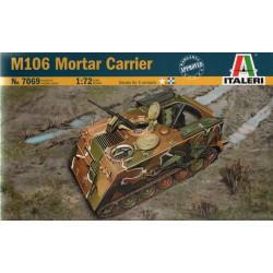 Tanque blindado  M106 mortar carrier U.S.. Escala 1:72. Marca Italeri. Ref: 7069.