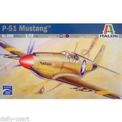 Caza P-51 MUSTANG. Escala 1:72. Marca Italeri. Ref: 090.