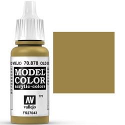 Acrilico Model Color, oro viejo ( 173 ). Bote 17 ml. Marca Vallejo. Ref: 70.878.