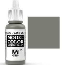 Acrilico Model Color, Acero engrasado ( 177 ). Bote 17 ml. Marca Vallejo. Ref: 70.865.