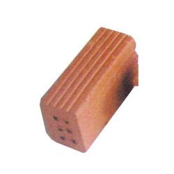 Ladrillo de 6 agujeros, 32 x 11 x 16mm. Bolsa de 20 unid. Aprox. Escala 1:10. Marca Cuit. Ref: 453905.