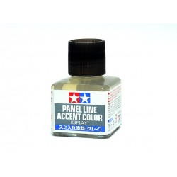 Panel line, gris oscuro. Marca Tamiya. Ref: 87133.