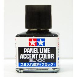 Panel liner, negro. Marca Tamiya. Ref: 87131.