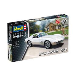 Vehículo corvette C3. Escala 1:32. Marca Revell. Ref: 07684.
