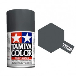 Spray Gun metal, (85038). Bote 100 ml. Marca Tamiya. Ref: TS-38.