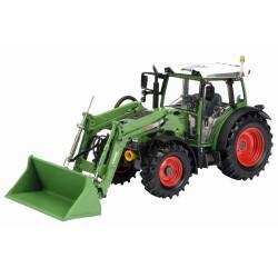 Tractor fendt 211 Vario mit Frontlader. Escala 1:32. Marca Schuco. Ref: 450764400.