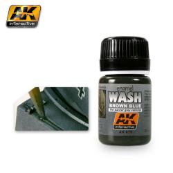 Lavado para tanques grises. Bote de 35 ml. Marca AK Interactive. Ref: AK070.