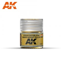 Syrian Republican Guard Desert Yellow. Cantidad 10 ml. Marca AK Interactive. Ref: RC102.