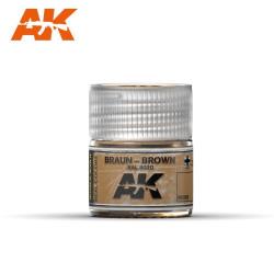 Braun – Brown RAL 8020. Cantidad 10 ml. Marca AK Interactive. Ref: RC069.