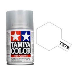 Spray semi gloss clear, Barniz satinado (85079). Bote 100 ml. Marca Tamiya. Ref: TS-79.