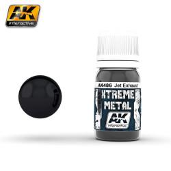 Xtreme Metal, jet exhaust. Contiene 35 ml. Marca AK Interactive. Ref: AK486.