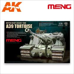 British A39 Tortoise Heavy Assault Tank. Escala 1:35. Marca Meng. Ref: TS-002.