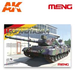 German Main battle tank Leopard 1 A3/A4 MBT. Escala 1:35. Marca Meng. Ref: TS-007.