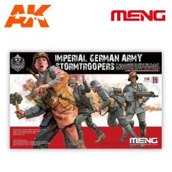 Imperial German Army Stormtroopers de la WWI. Escala 1:35. Marca Meng. Ref: HS-010.